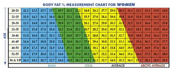 can i estimate my body fat percentage