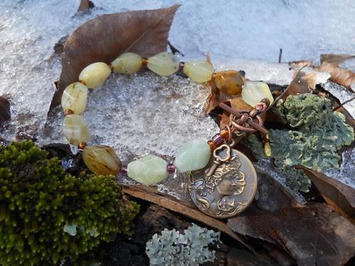 Bead Soup 7 - Soo Chow Jade bracelet