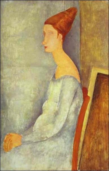 Qui a peint Portait de Jeanne Hebuterne ?