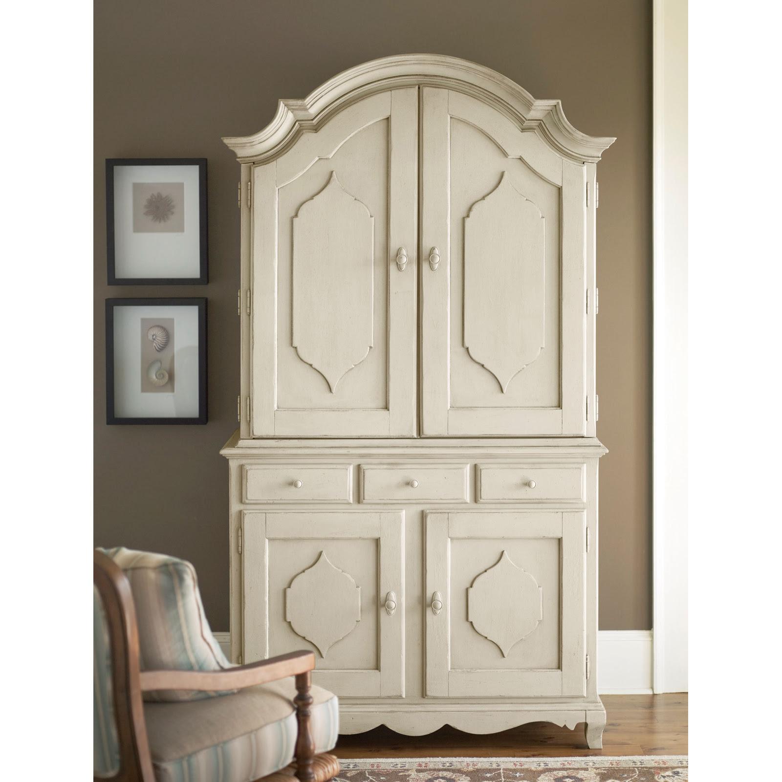 Paula Deen Down Home Complete Bar Cabinet - Linen at Hayneedle