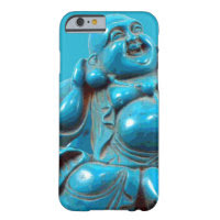 Turquoise Carved Happy Buddha Statue iPhone 6 case