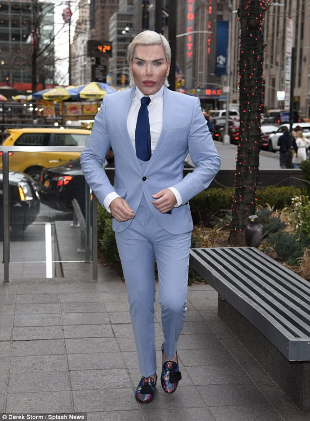 Image result for Human Ken Doll Rodrigo Alves