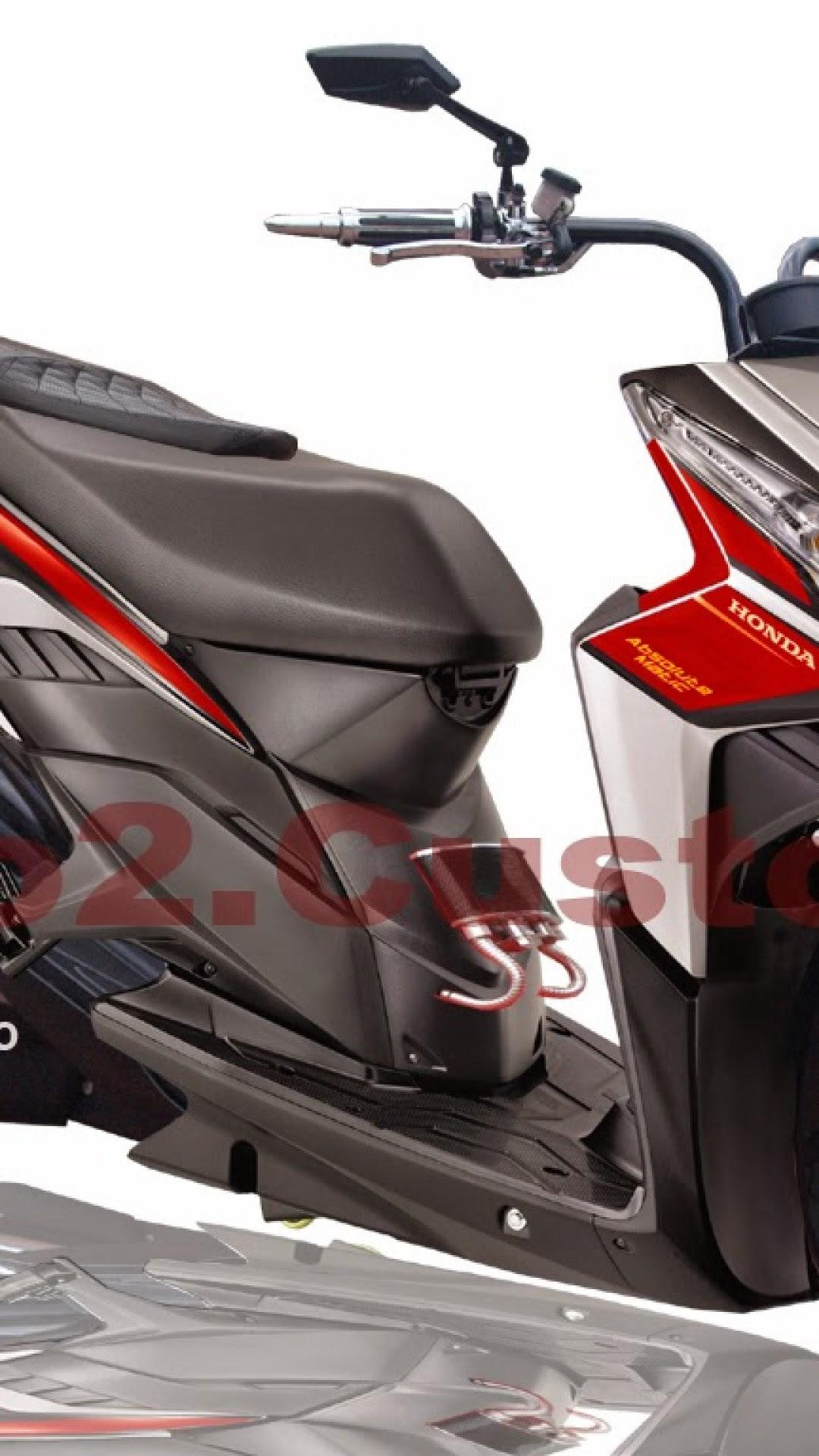 Download 68 Modifikasi Motor Honda Revo Fit Terbaru Dan Terlengkap