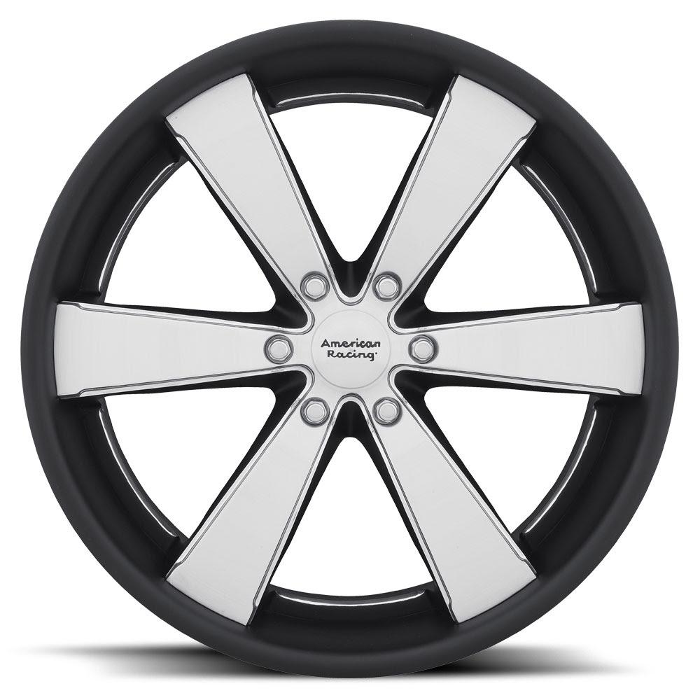 American Racing Custom Wheels Vn476 Slate Wheels Down South Custom Wheels