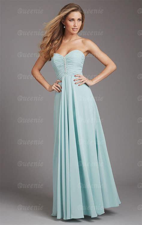 Stunning Chiffon Light Blue Bridesmaid Dress BNNAK0133