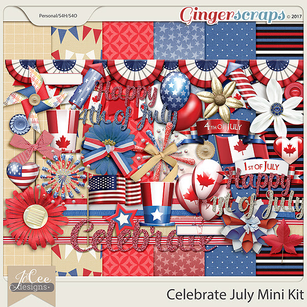 Celebrate July Mini Kit