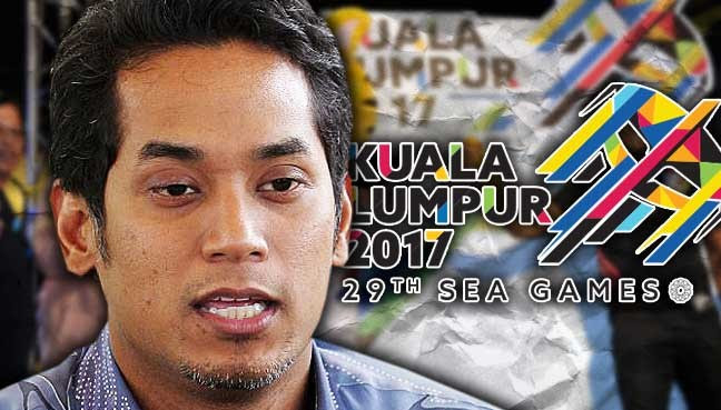 Image result for khairy+sea games closing