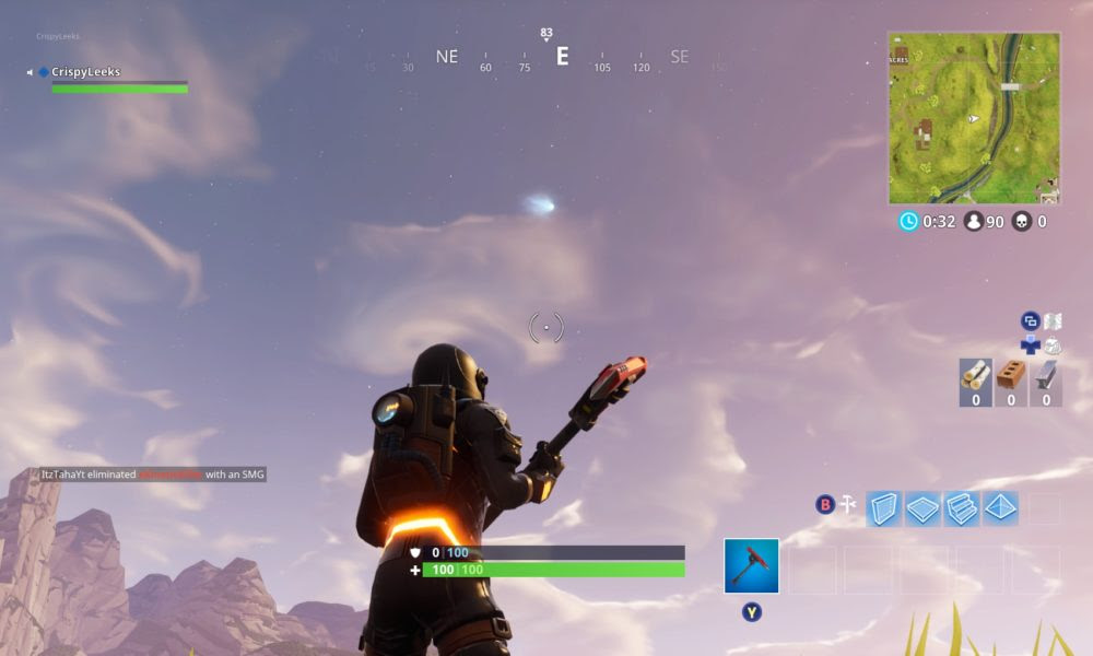 Here's What Fortnite's Comet Could Mean For Tilted Towers