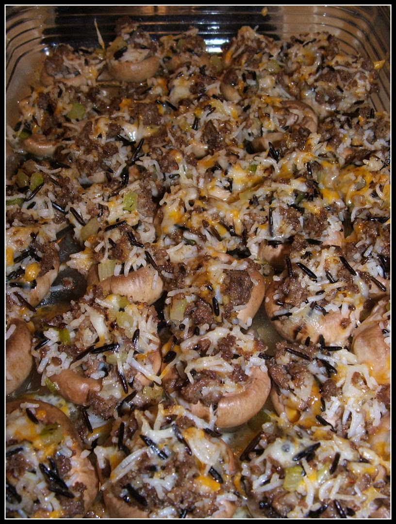 Stuffed Mushrooms by Angie Ouellette-Tower for godsgrowinggarden.com photo 024_zpsb2f9c37c.jpg