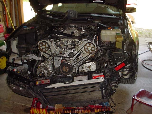 Audi area: Audi A8 Timing Belt Replacement