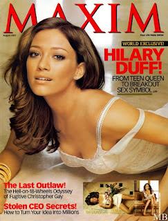 Sexy Hilary Duff In Maxim