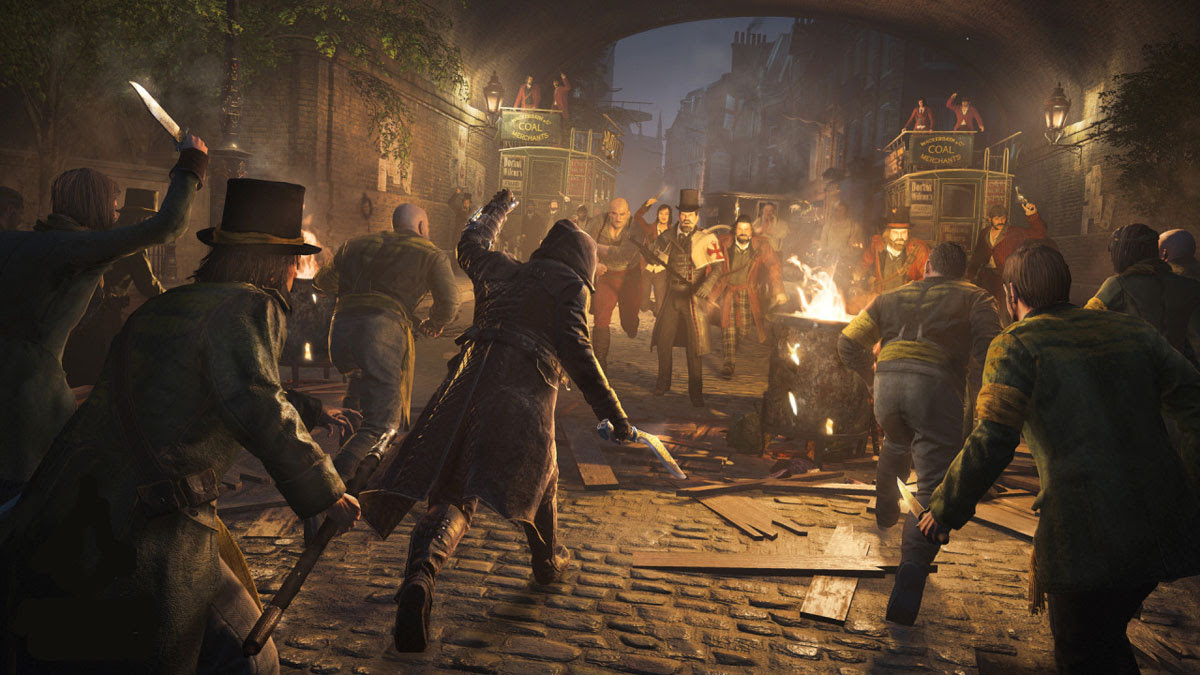 'Assassin's Creed Syndicate' co-star Jacob Frye leads a fight against the Templars