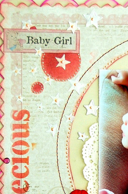 Precious Baby Girl Layout by Irene Tan