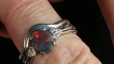 Black Opal Engagement Ring Set Design A 67 Engagement Ring