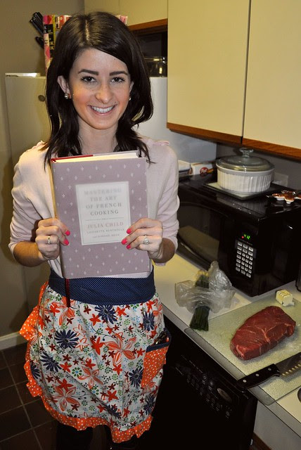 With my cookbook