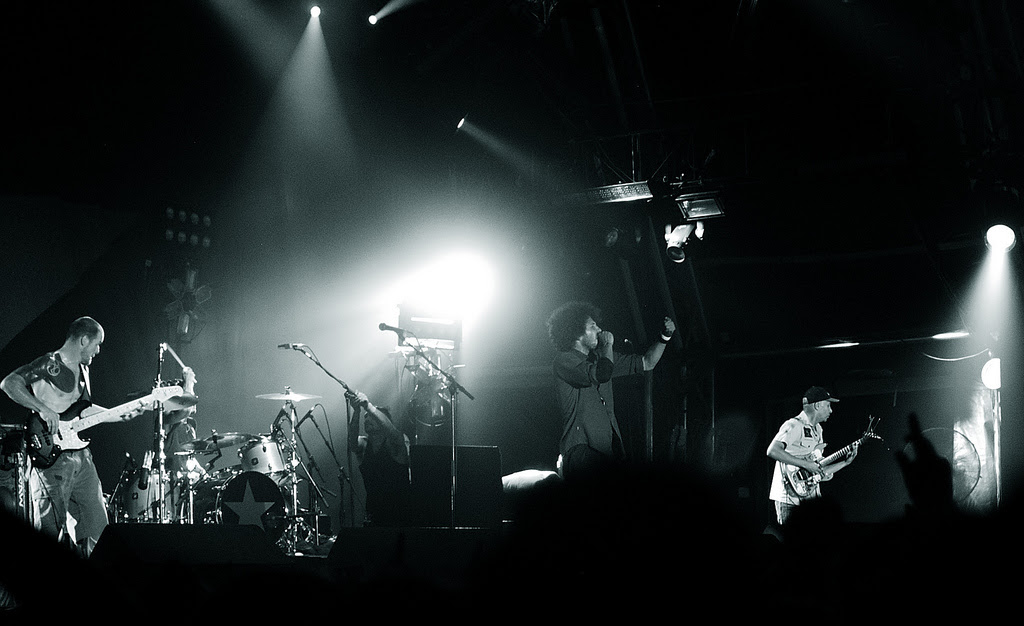 Rage Against the Machine, Australien 2008
