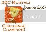 BBC Monthly Challenge Champion Dec 08