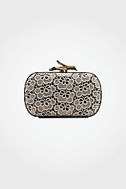 Lytton Small Lace Clutch