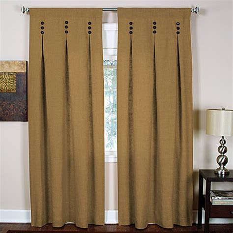 Murano Back Tab Window Curtain Panels   Bed Bath & Beyond