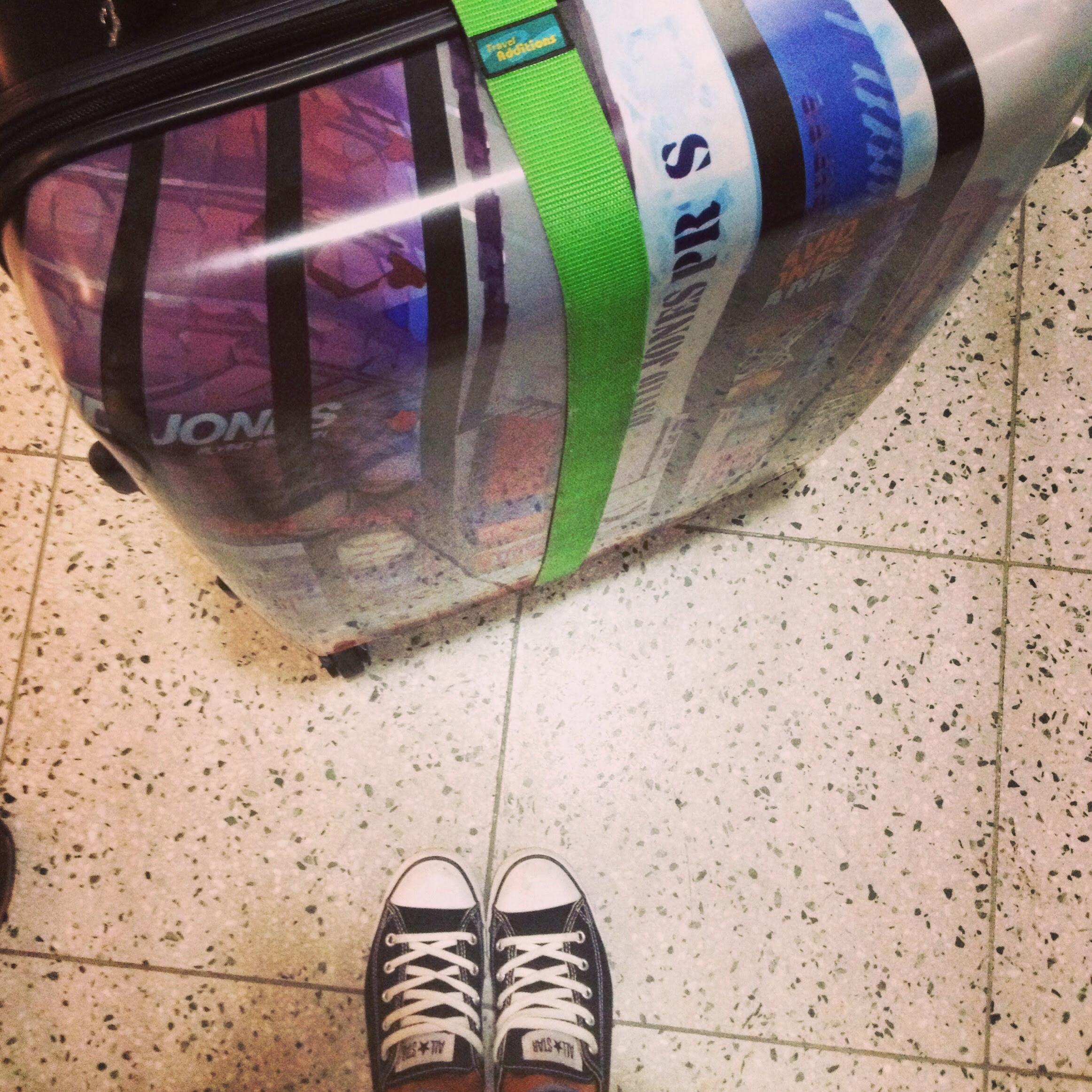 David Jones NYC Suitcase