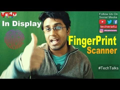 Vivo Smartphone Display With Fingerprint Scanner Showcased in CES 2018