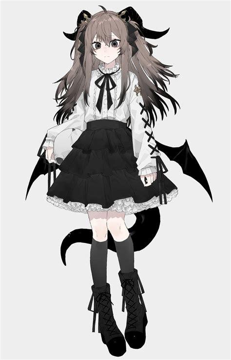 character design anime anime demon