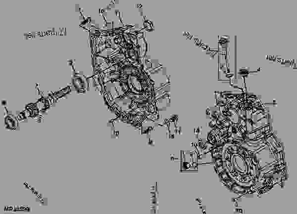 35 John Deere Gator Transmission Diagram