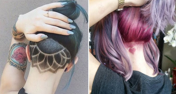 Hairwebde Trends Undercut Tattoo Bilder So Wirds Gemacht Neck