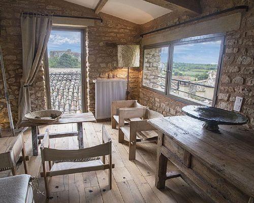 Interior Casa rural, estilo provenzal en La Capelle et Masmolène