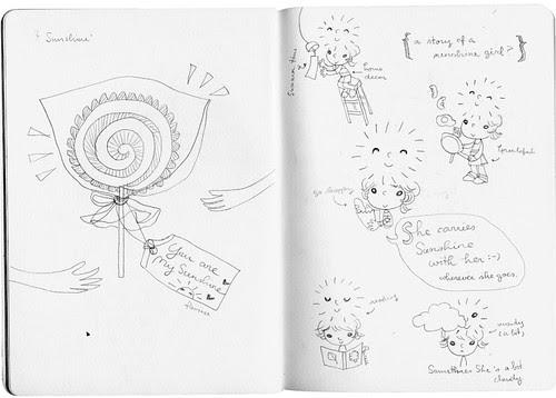 inspied doodles : sunshine01