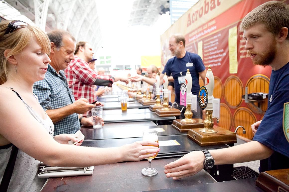The Great British Beer Festival comes to Olympia London this August