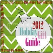 2012 Holiday Gift Guide, 2012 Holiday Gift Guide brought to you by Coping with Frugality, MI Savings Mama, Mom Mart, The More The Merrier, and Woven By Words.