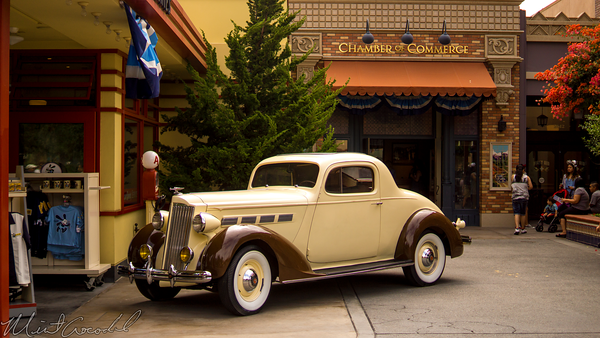 Disneyland Resort, Disneyland60, Disney California Adventure, Buena Vista Street, Oswald, Gas, Station