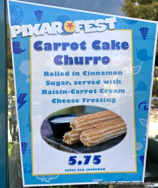 Carrot Cake Churro