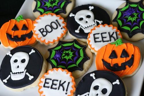 Halloween Sugar Cookies - Everyday Annie