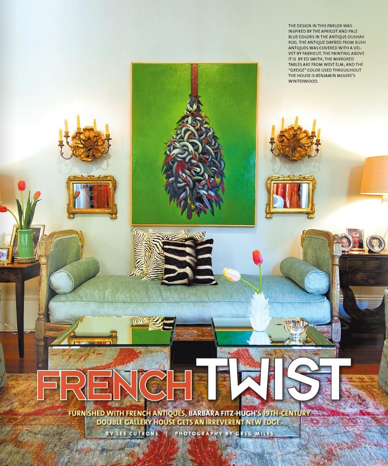 Visual Vamp in June 2011 CUE Magazine