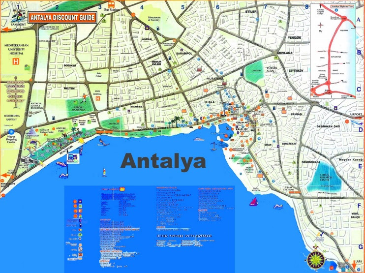 antalya tourist map max