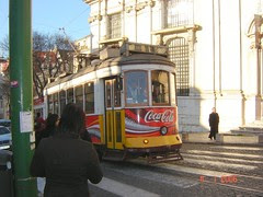 Tram di Lisbon, Portugal