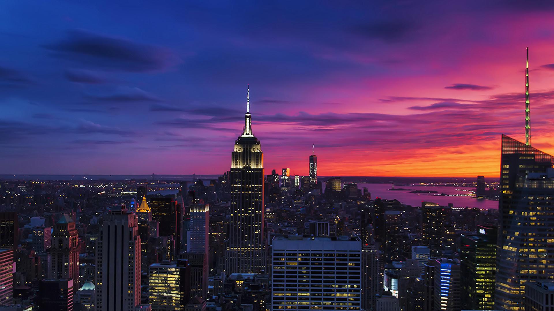 Manhattan Sunset [1920x1080]
