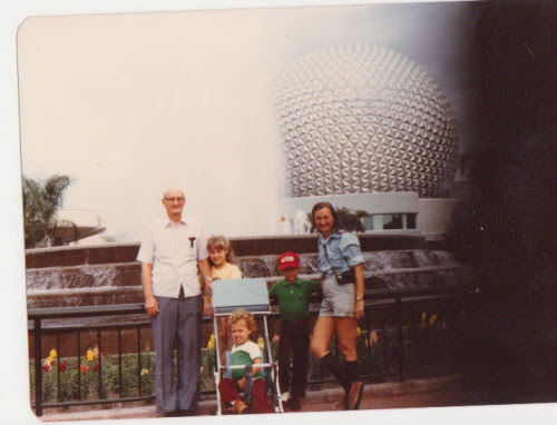 George E Rogers Jr at Epcot, FL