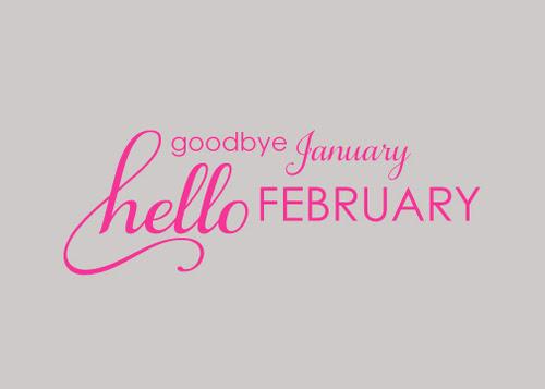 Resultado de imagem para hello february