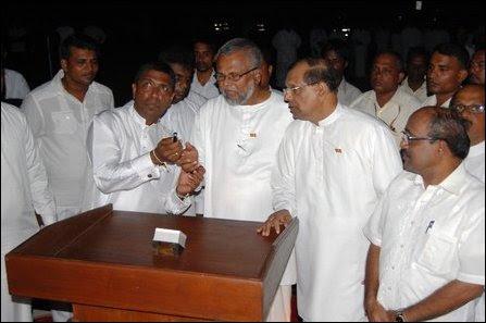 Vesak in Jaffna by SL military