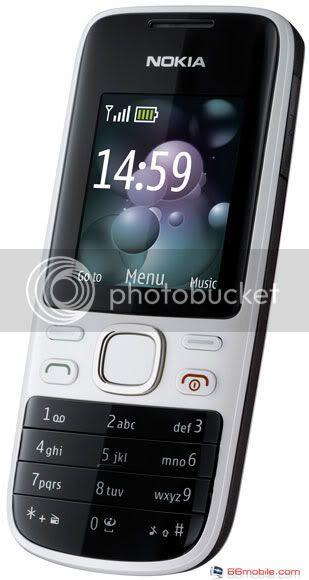 Tema Nokia 2220 Slide Wallpaper