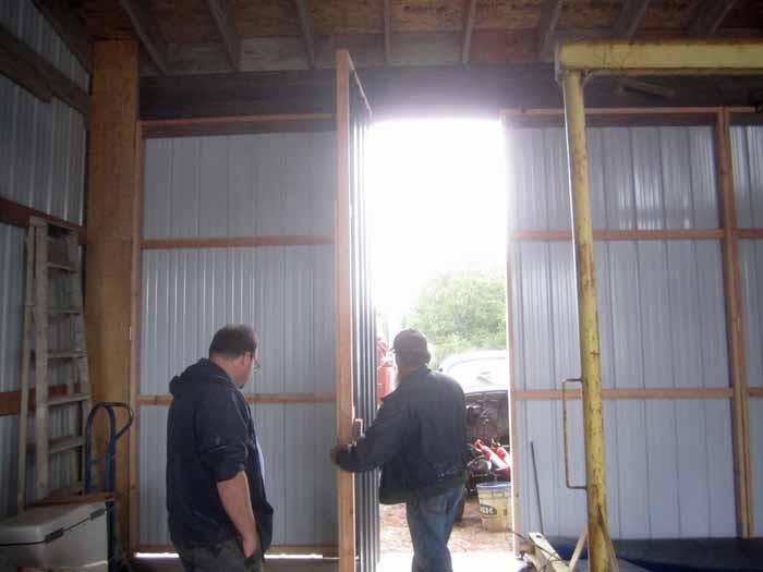 Frankenbarn Door Opening 2