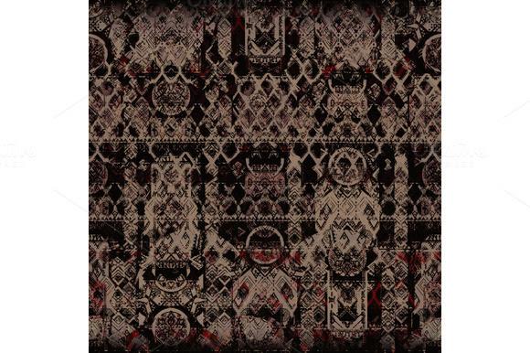Gambar Garskin Tribal Zig Zag Pattern Designtube Creative Design Content