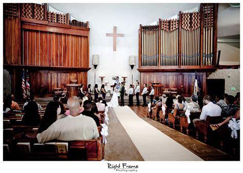 Bishop Memorial Chapel Wedding Honolulu by RIGHT FRAME