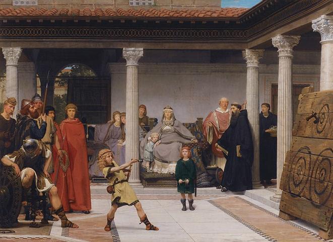 File: Alma-Tadema A educação dos filhos de Clovis.jpg