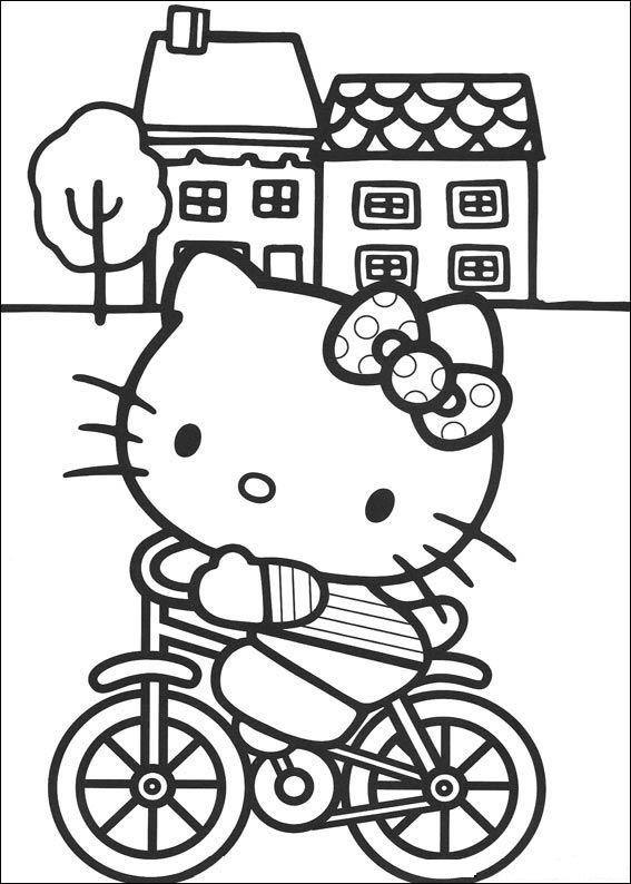 Boyama Sayfaları Hello Kitty Hareketli Resimleri Gifleri