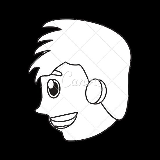 Boy Side Face Drawing Max Installer