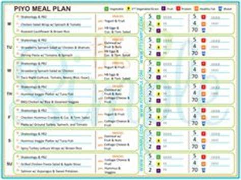 piyo images meal planning beachbody food